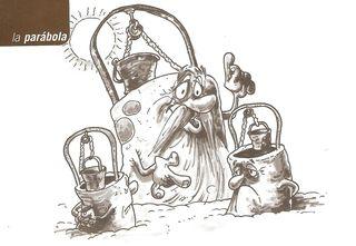 Parabola de los pozos. MFE